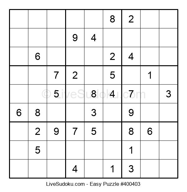 Beginners Puzzle #400403