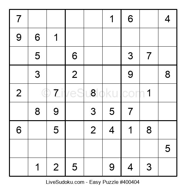 Beginners Puzzle #400404