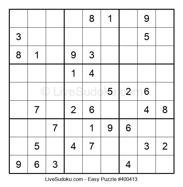 Beginners Puzzle #400413