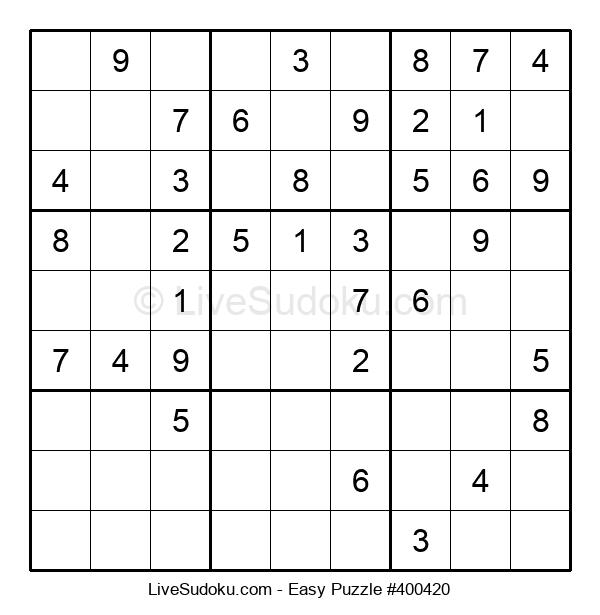 Beginners Puzzle #400420