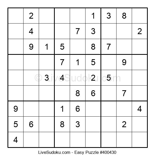 Beginners Puzzle #400430