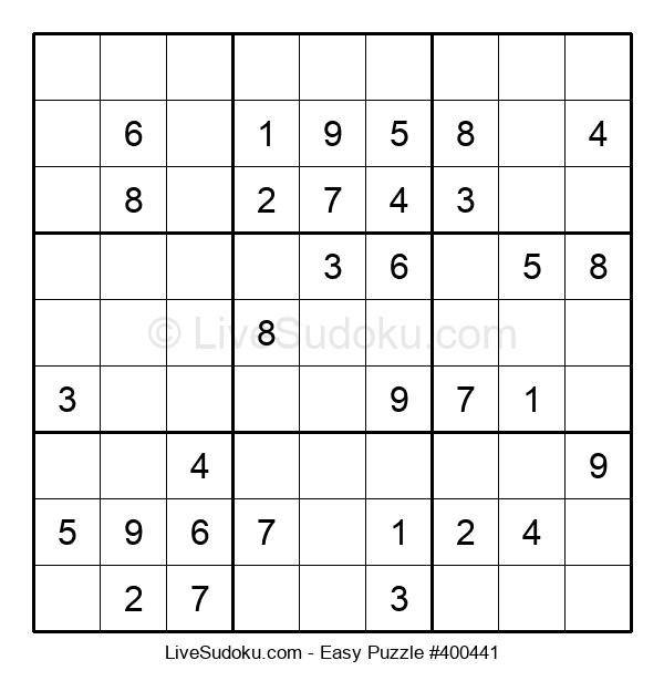 Beginners Puzzle #400441