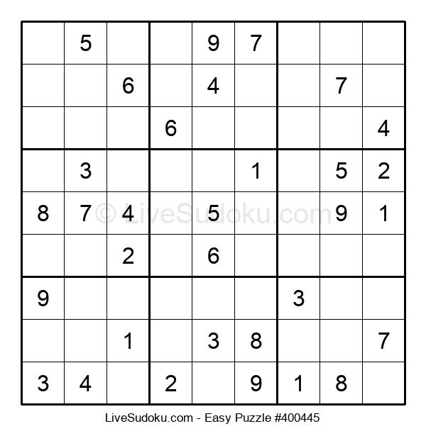 Beginners Puzzle #400445