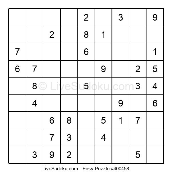 Beginners Puzzle #400458