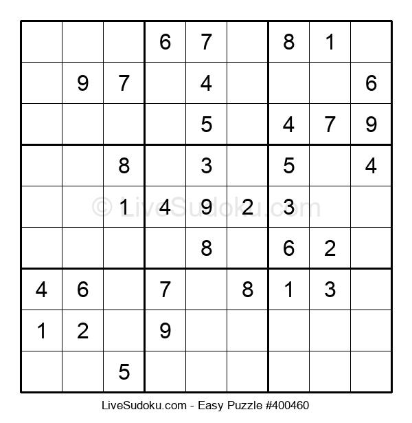 Beginners Puzzle #400460