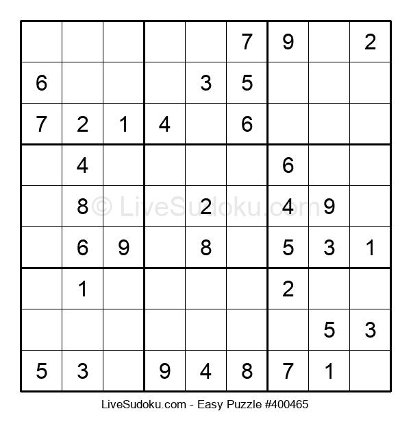 Beginners Puzzle #400465