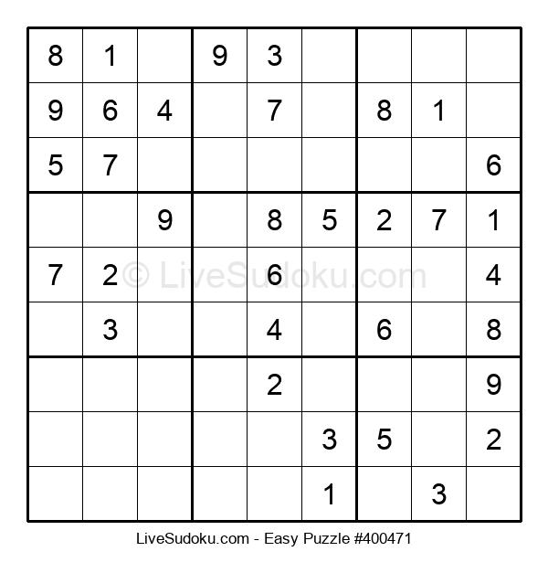Beginners Puzzle #400471