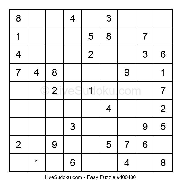 Beginners Puzzle #400480