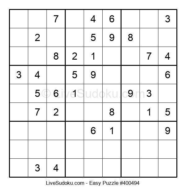 Beginners Puzzle #400494