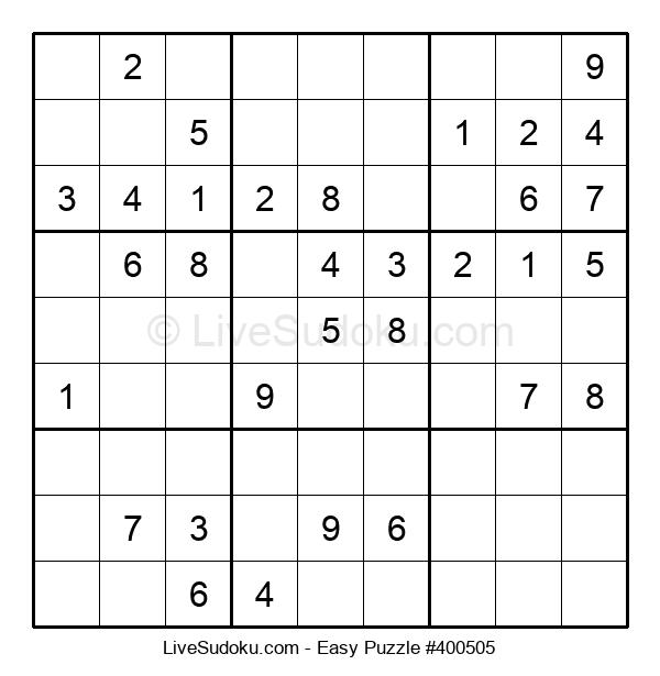 Beginners Puzzle #400505