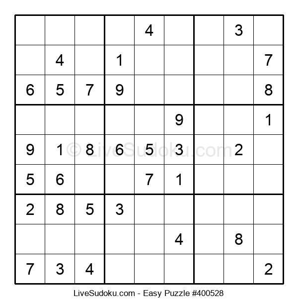 Beginners Puzzle #400528
