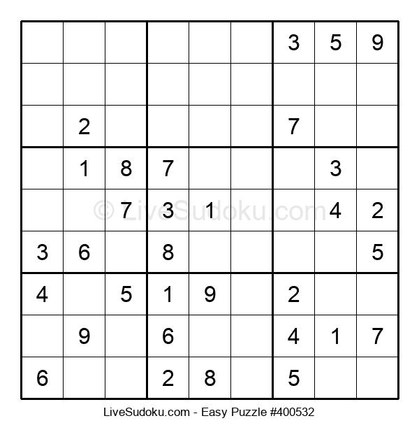 Beginners Puzzle #400532