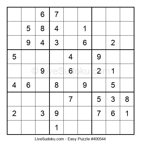 Beginners Puzzle #400544