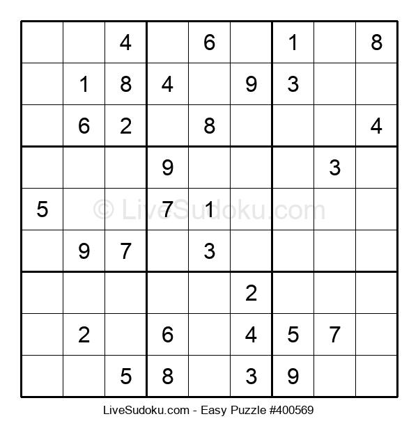 Beginners Puzzle #400569