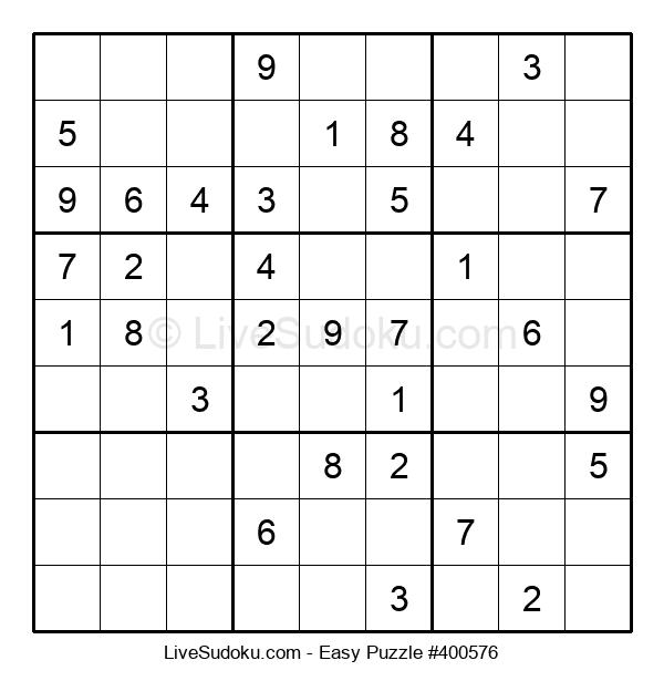 Beginners Puzzle #400576