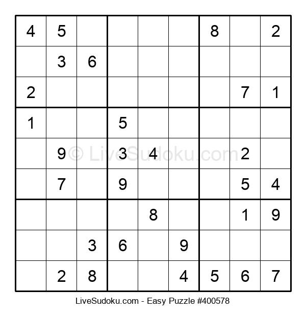 Beginners Puzzle #400578