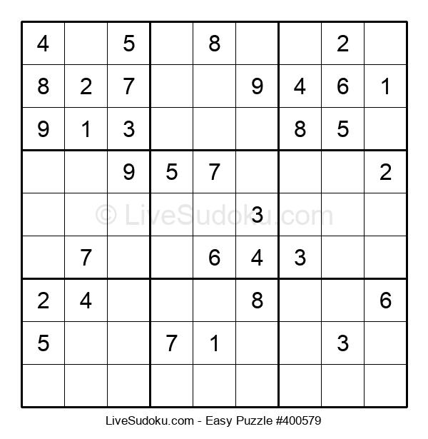 Beginners Puzzle #400579
