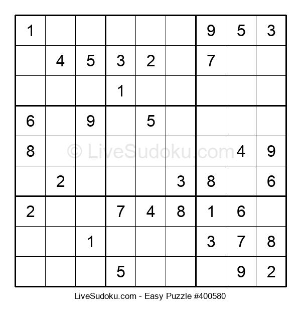 Beginners Puzzle #400580