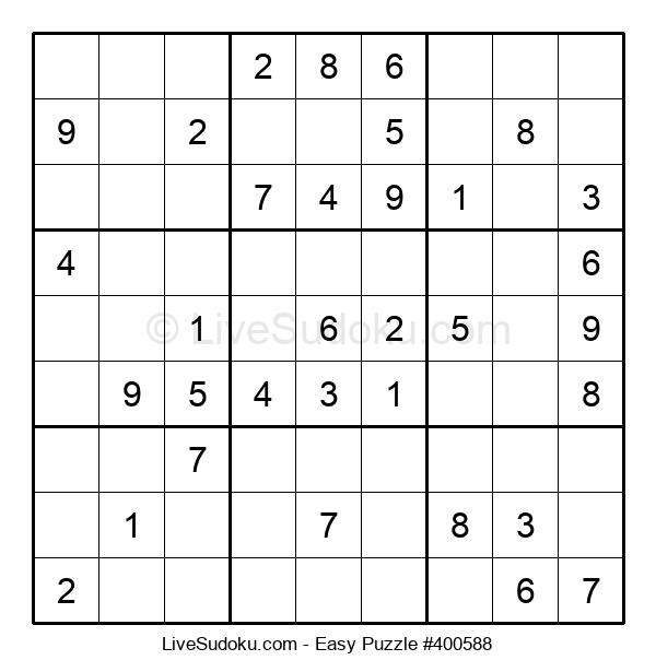 Beginners Puzzle #400588
