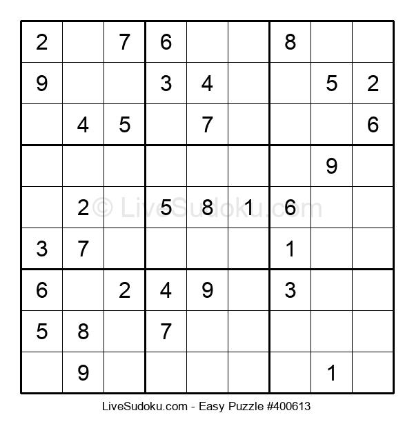 Beginners Puzzle #400613