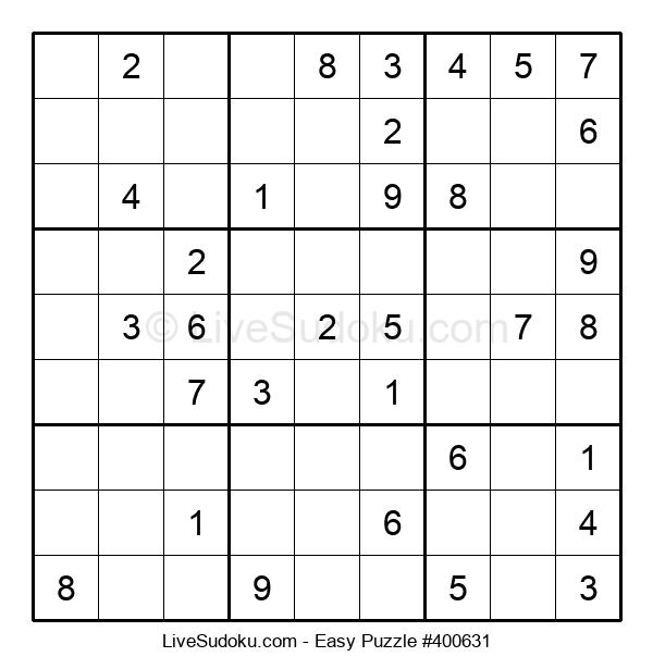 Beginners Puzzle #400631