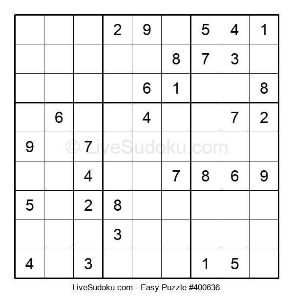 Beginners Puzzle #400636