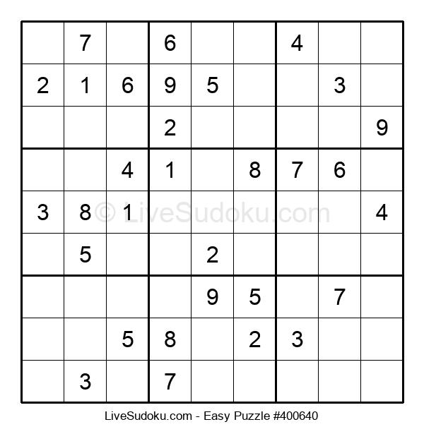 Beginners Puzzle #400640