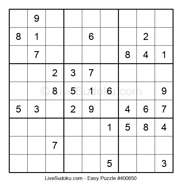 Beginners Puzzle #400650