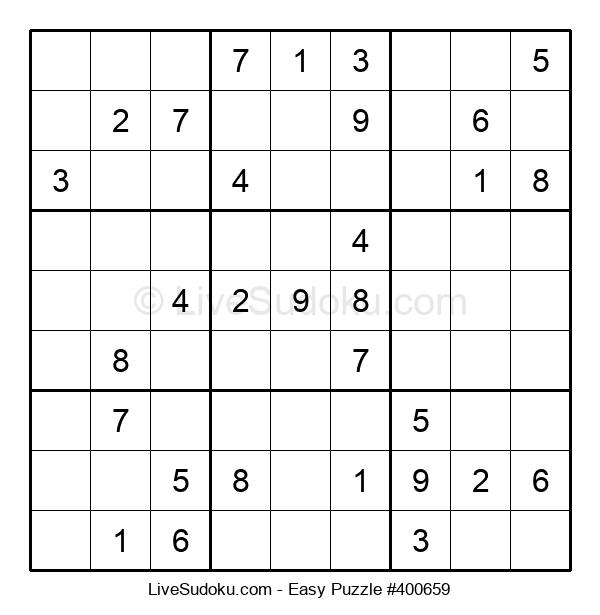 Beginners Puzzle #400659