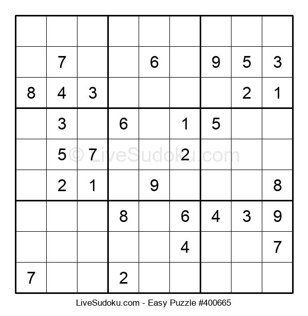 Beginners Puzzle #400665