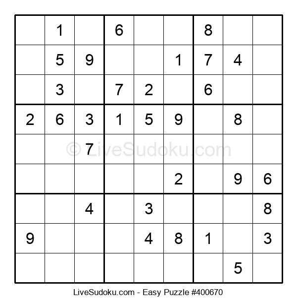 Beginners Puzzle #400670