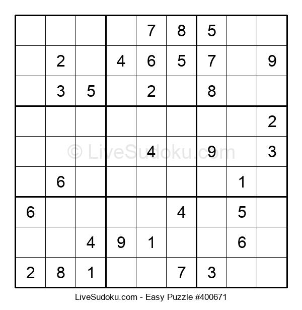 Beginners Puzzle #400671