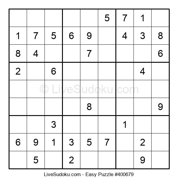 Beginners Puzzle #400679