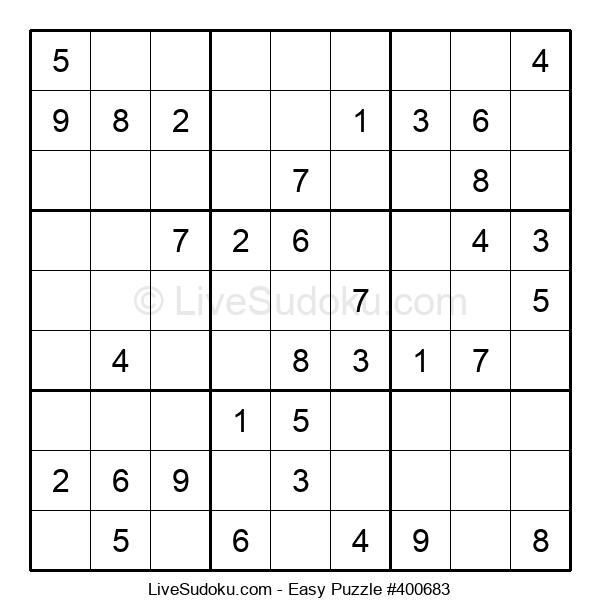 Beginners Puzzle #400683