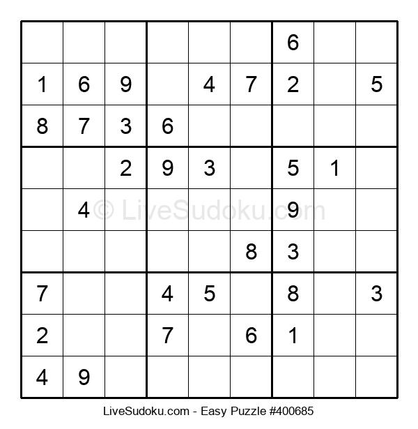 Beginners Puzzle #400685