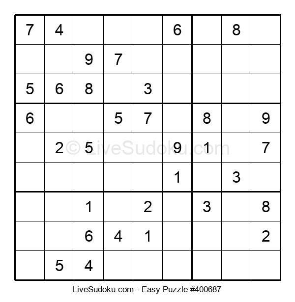 Beginners Puzzle #400687