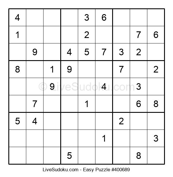 Beginners Puzzle #400689