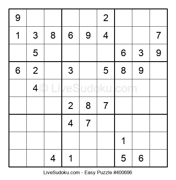 Beginners Puzzle #400696
