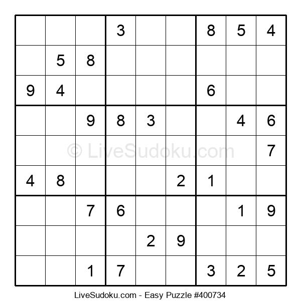 Beginners Puzzle #400734