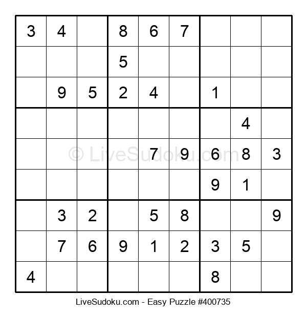 Beginners Puzzle #400735