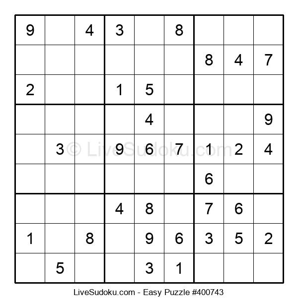 Beginners Puzzle #400743