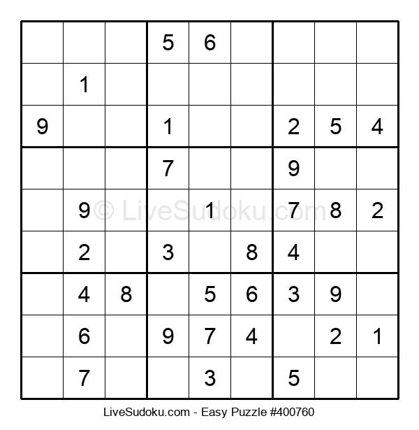 Beginners Puzzle #400760