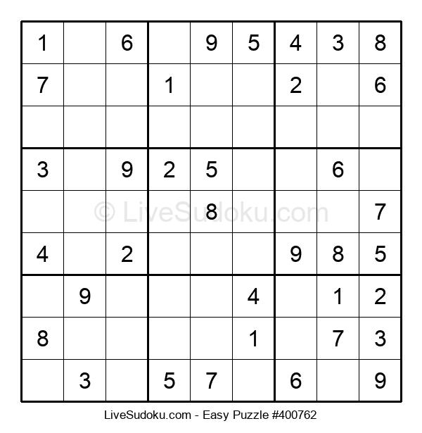 Beginners Puzzle #400762