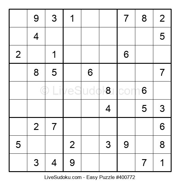 Beginners Puzzle #400772