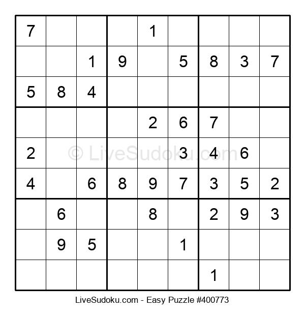 Beginners Puzzle #400773