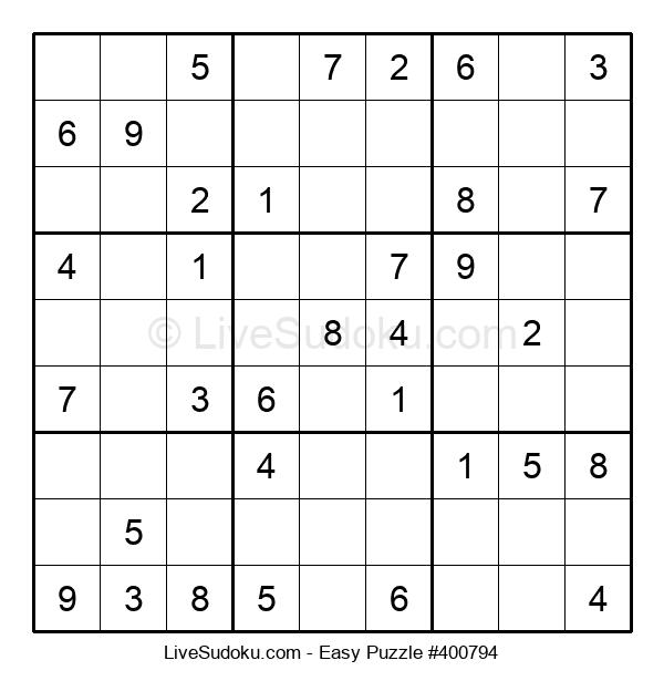 Beginners Puzzle #400794