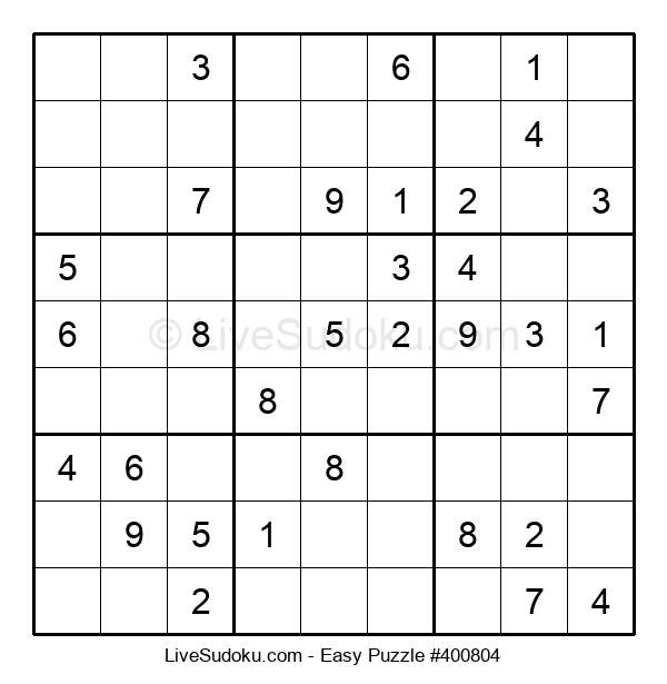 Beginners Puzzle #400804