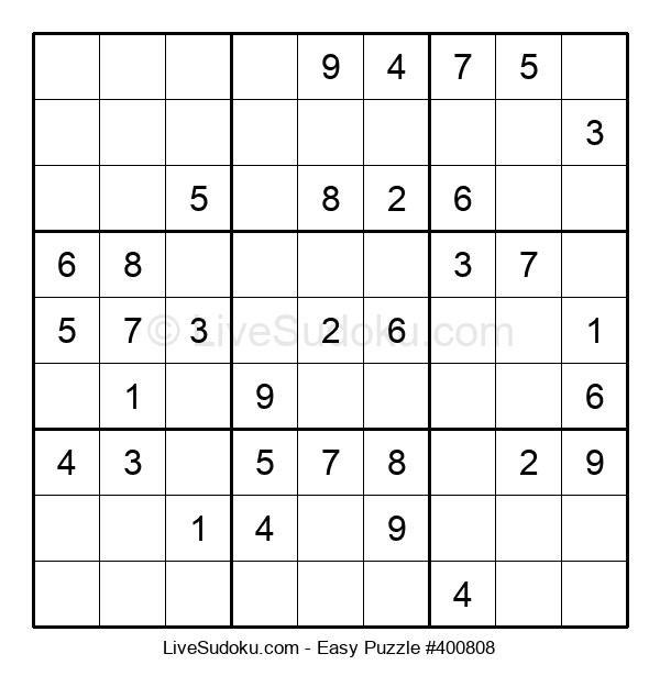 Beginners Puzzle #400808