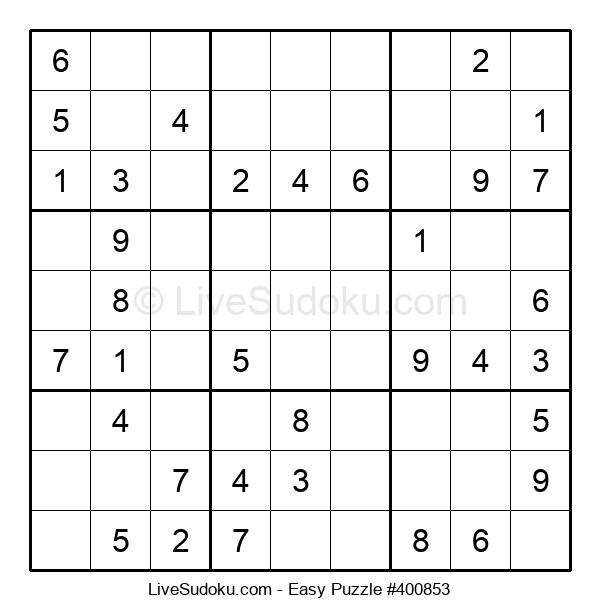Beginners Puzzle #400853