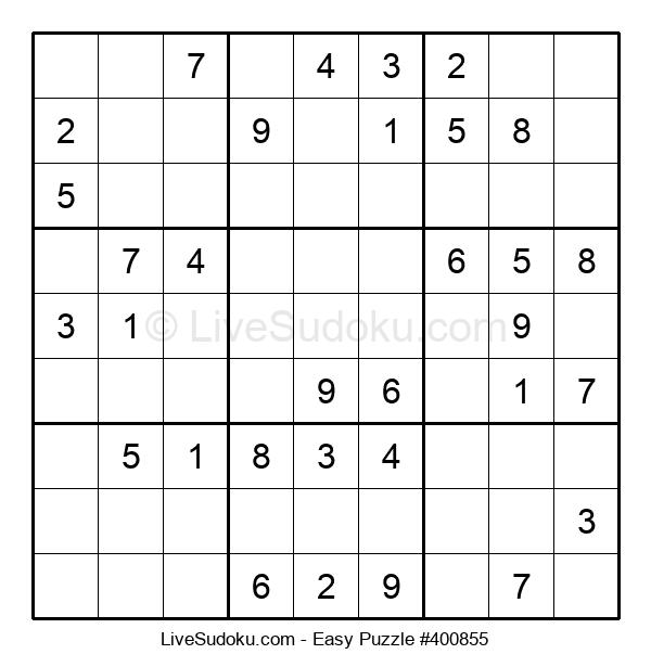 Beginners Puzzle #400855